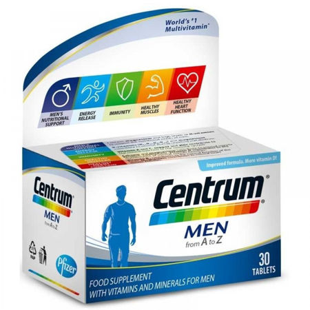 Picture of CENTRUM MEN A-Ž 30 tableta