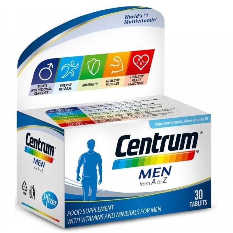 Picture of CENTRUM MEN A-Ž 30 tableta