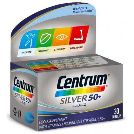 Picture of CENTRUM SILVER 50+  30 tableta