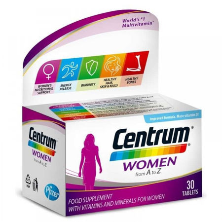 Picture of CENTRUM WOMEN A-Ž  30 tableta