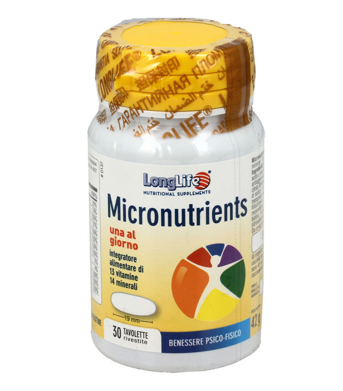 Picture of LongLife MICRONUTRIENTS 30 tableta