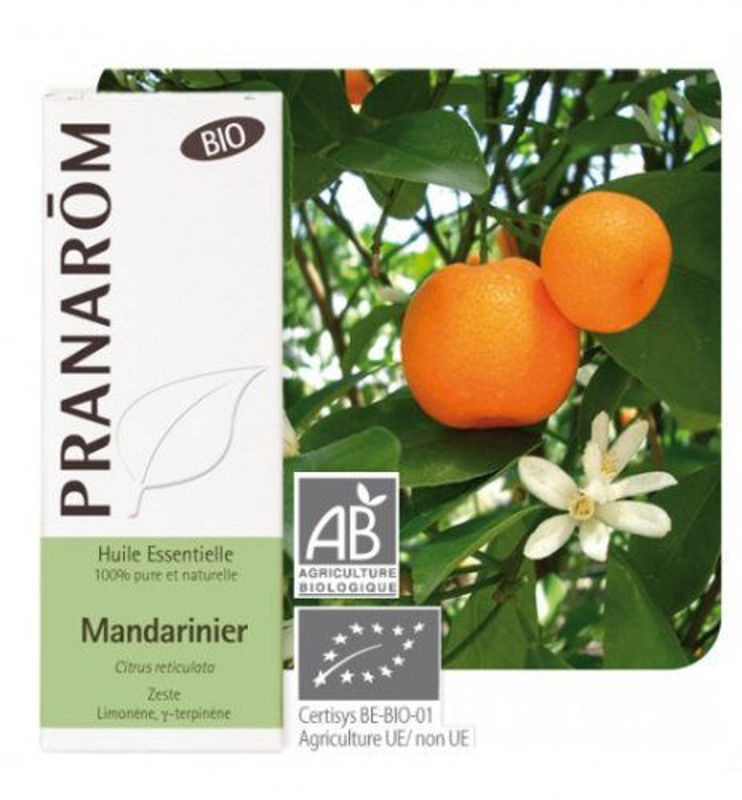 Picture of PRANAROM MANDARINA  10 ML