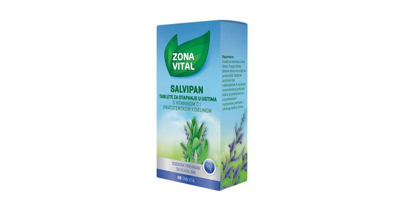 Picture of ZONA VITAL SALVIPAN PASTILE 20 KOMADA