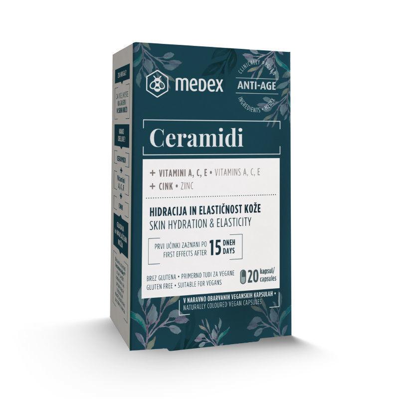 Picture of MEDEX CERAMIDI KAPSULE 20 X 100 MG