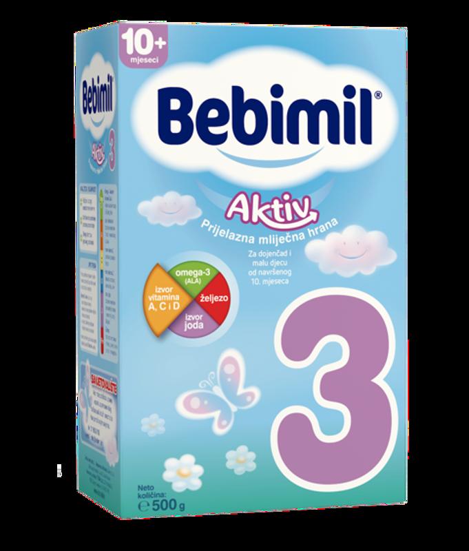 Picture of BEBIMIL 3 AKTIV 500 G