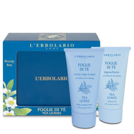 Picture of L'ERBOLARIO TEA LEAVES PROMO KREMA+KUPELJ 75 ML