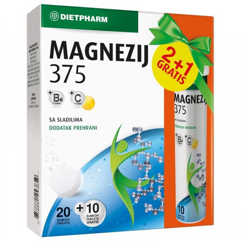 Picture of MAGNEZIJ 375 EFER 20 KOM+10 GRATIS
