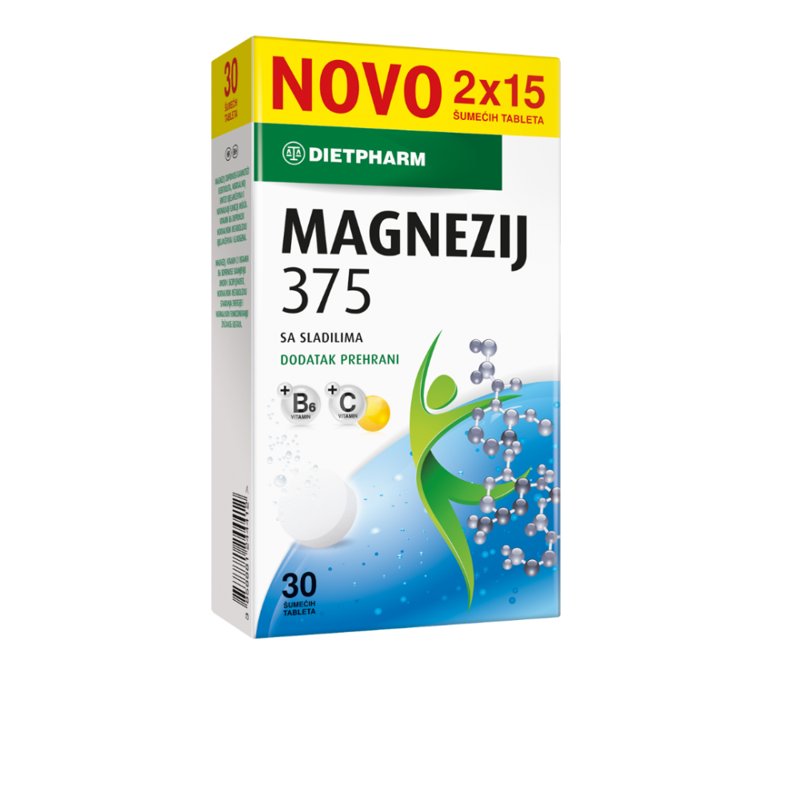 Picture of MAGNEZIJ 375 ŠUMEĆE TABLETE 30 KOM