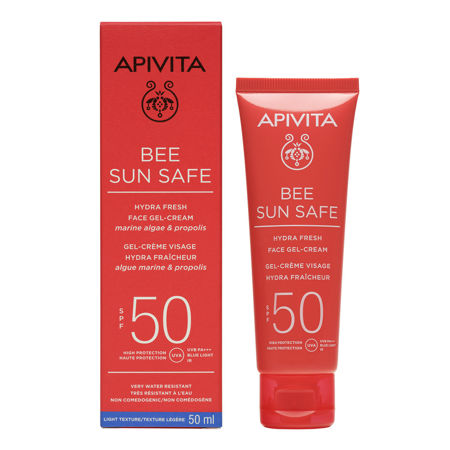 Picture of APIVITA BEE SUN SAFE GEL KREMA LICE SPF 50 50ML