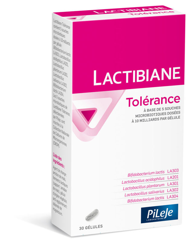 Picture of PILEJE LACTIBIANE TOLERANCE 30 tableta