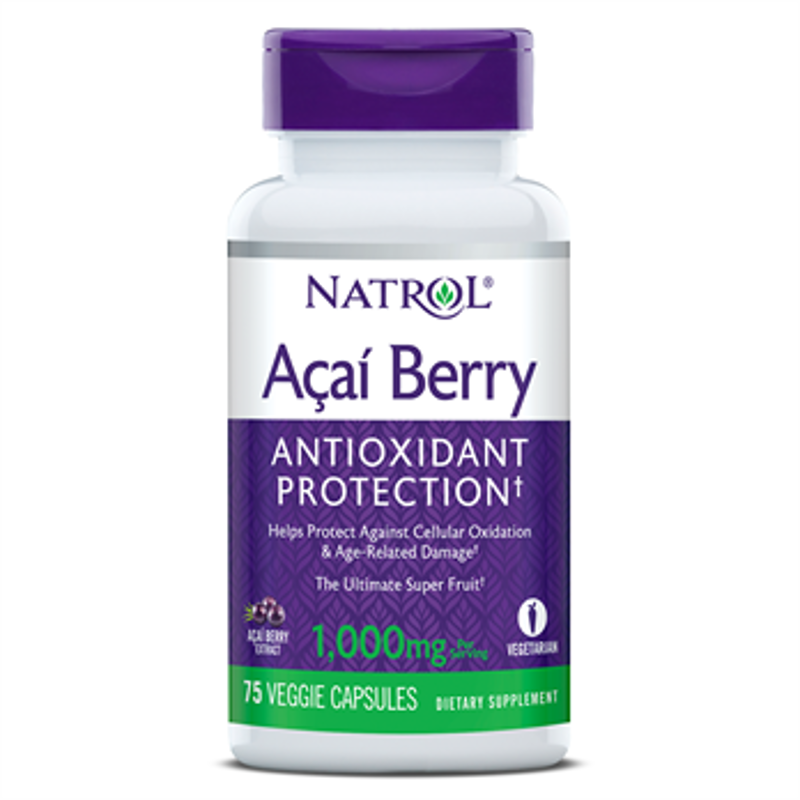 Picture of NATROL ACAI BERRY CAPS 75X1000 MG