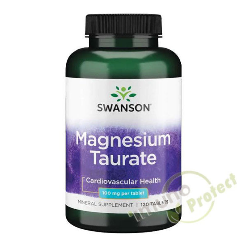 Picture of SWANSON MAGNEZIJ TAURATE 120 TABLETA